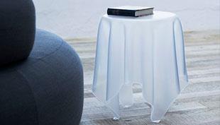 Illusion: a műanyag abrosz, amely alól kikapták az asztalt