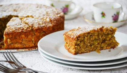 Oat and Ginger Banana Cake (Banana Bread)