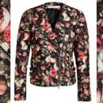 Givenchy rózsakeret kabáton, szoknyán, leggingsen