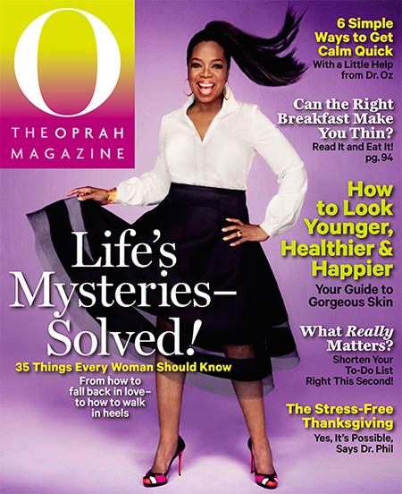 The Oprah Magazine USA - November 2013
