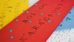 Karácsony: családi gyártású üdvözlőlap