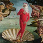 Művészhumor: Télapó a legszebb mesterműveken