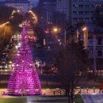 Karácsony: Karácsonyfa 356 szánkóból