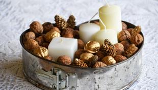 Karácsony: karácsonyi dekoráció 5 perc alatt