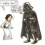 Luke, én vagyok az apád! - Darth Vader apaszerepben