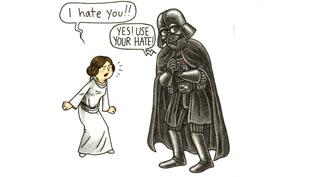 Luke, én vagyok az apád! – Darth Vader apaszerepben