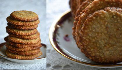 Szezámmagos keksz: az élet napos oldala