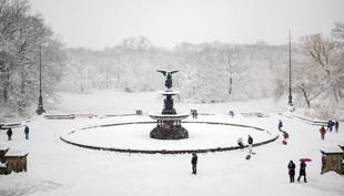 Tél New Yorkban: a behavazott Central Park