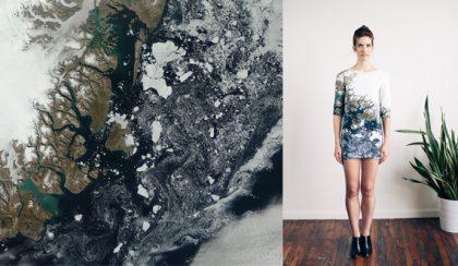 Végzetes szépség: az olvadó jéghegyek ruhája