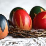 Húsvét: tojásfesték és maszkolószalag