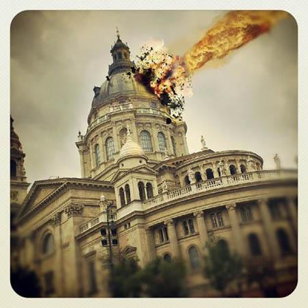 Meteorit becsapódás a Bazilikába/Alternative Budapest - KoPé
