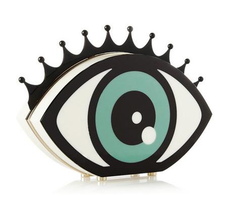 Eye Want You Perspex táska/Design: Charlotte Olympia