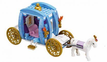 Mint a mesében: Disney Hercegnők és a Lego kocka