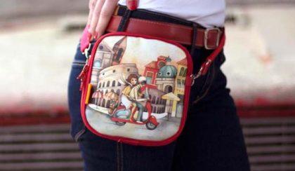 Kis tekintetbűvölők: táskák Róth Anikó festményekkel