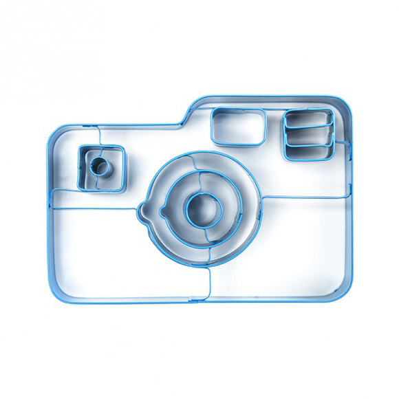 Így néz ki a fényképezőgép sütiforma/Design: Doneky