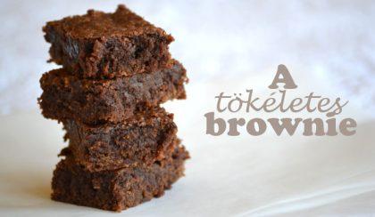 A tökéletes brownie a 30×40 centis tepsiben