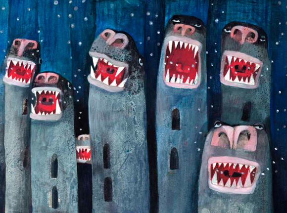 Lázár Ervin: A Hétfejű Tündér (Illusztrálta: Grela Aleksandra)/Csimota