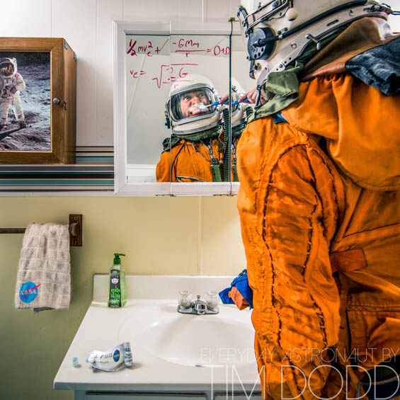 A day in the life of Everyday Astronaut