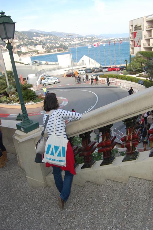 Moksha-táska Monacoban. (Fotó: Kisan, 2014)