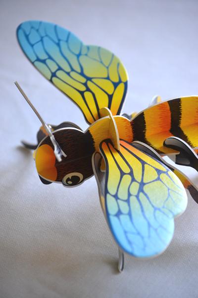 És méhecske! (Fotó: Myreille)