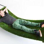 Ultra klassz kényelem: pázsitos függőágy