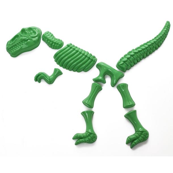 10 darabos Tyrannosaurus csontvázforma (Gyártó: Wilko)