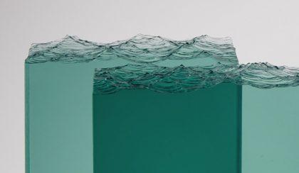 Üvegóceán: a lelassított hullámverés