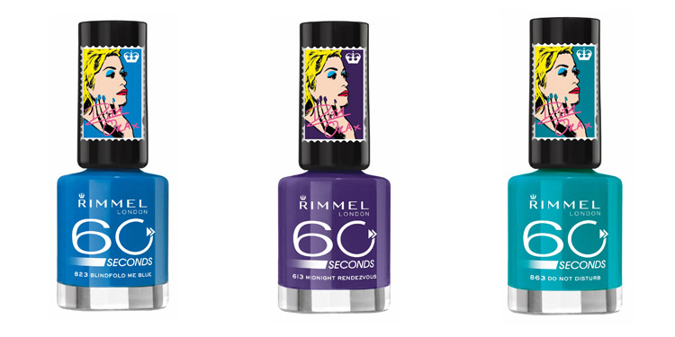 Rimmel London 60 Seconds körömlakk - Rita Ora kollekció