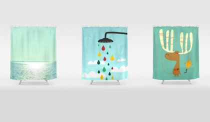 16 zuhanyfüggöny, avagy fürdőszobai filozófia