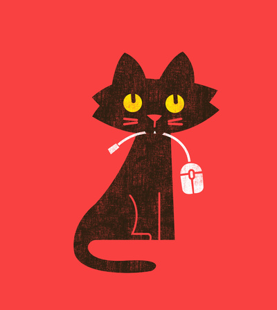 Budi Satria Kwan: Fitz - Hungry hungry cat (and unfortunate mouse)
