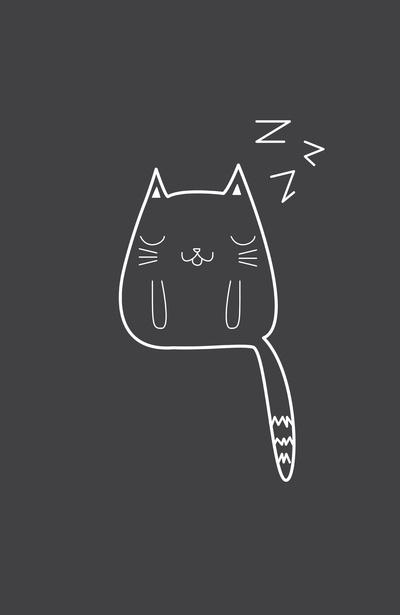 Alisha Jensen: Sleepy Cat