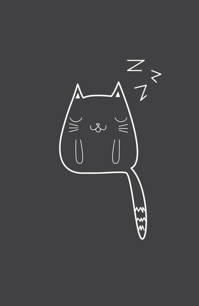 Alisha Jensen: Sleepy Cat