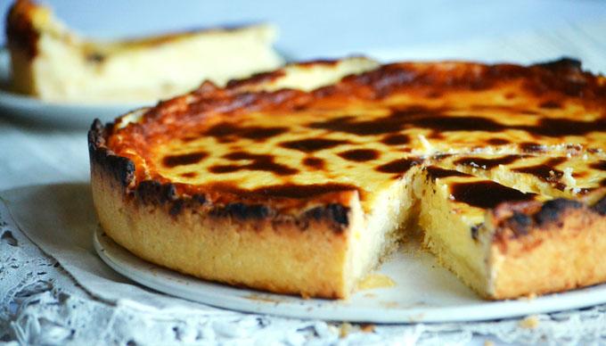 Citromtorta másként: citromos cheesecake (Fotó: Myreille)