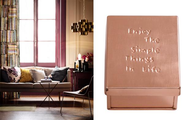Letisztult formák és kedves apróságok/Design és fotó: H&M Home