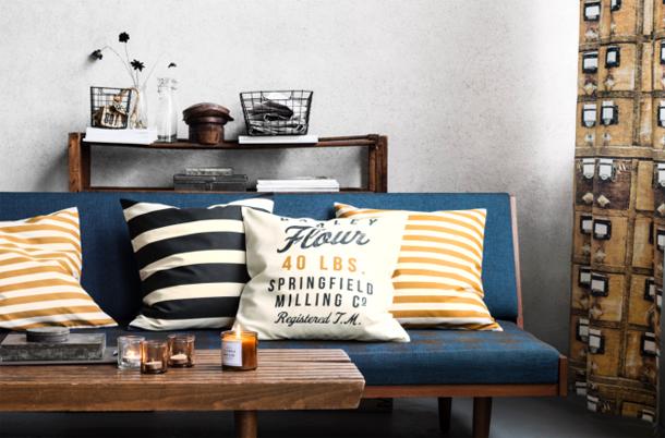 ... és csíkokra/Design és fotó: H&M Home