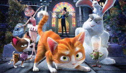 A cuki cica, a mogorva nyúl és a varázsló