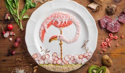 Tányérképek: ennivaló állatok zöldségekből