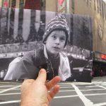 Filmjelenetek valódi helyszíneken, forgatás nélkül
