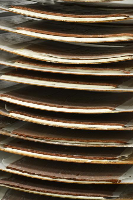 Kalandok a maklári csokigyárban, készül a Korfu szelet/Fotó: Myreille