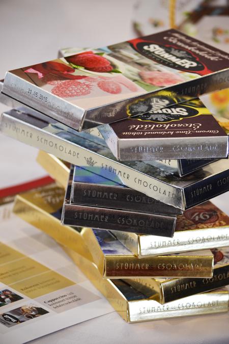 A feladat: kóstolj meg és véleményezz 10 tábla csokit/Fotó: Myreille