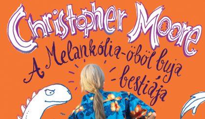 Christopher Moore tizedszer: A Melankólia-öböl buja bestiája