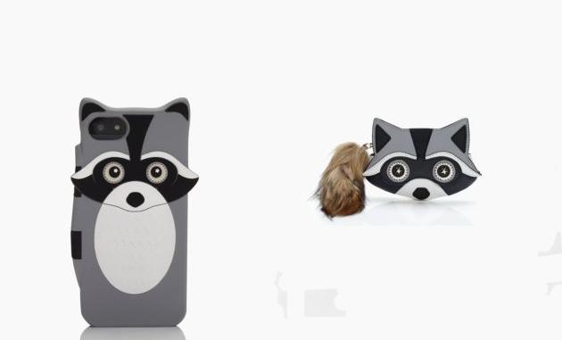 Kate Spade-nél ismegjelentek a mosómedvék: telefontok és pénztárca.