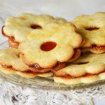 Omlós linzerkarika családi recept szerint