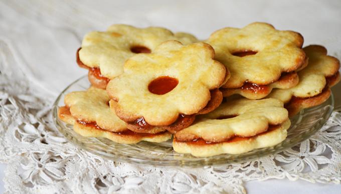 Omlós linzerkarika családi recept szertin