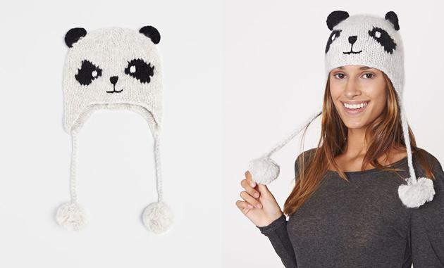 Kész medveologia ez a tél. Ez éppen egy panda./Oysho