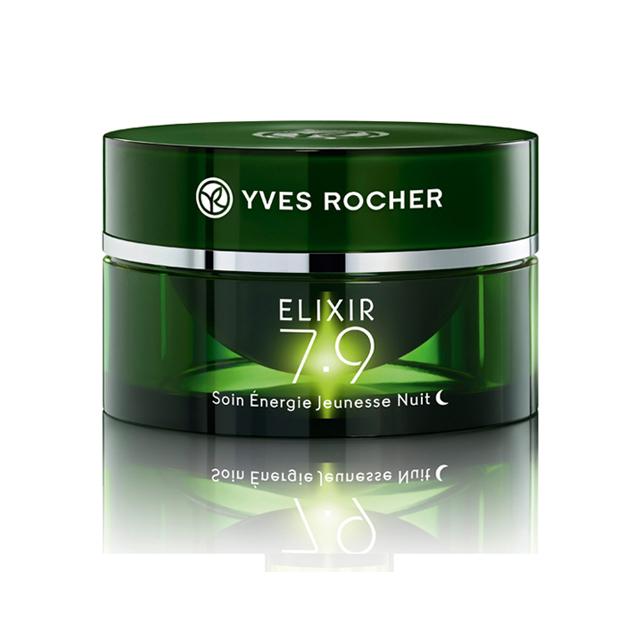Elixir 7.9 Fiatalság serkentő éjszakai arcápoló/Yves Rocher