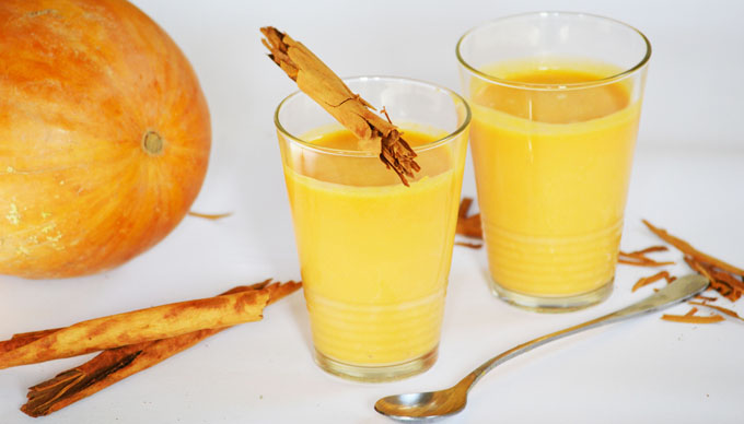 Sütőtök turmix: ragyogó ősz a pohárban (Fotó: Myreille)