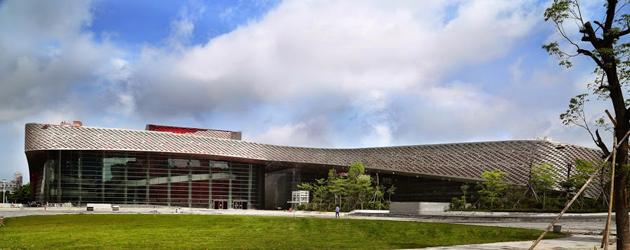 A Nanshan Kulturális- és Sportközpont és Művészeti Múzeum (Fotó: Zang Chao)