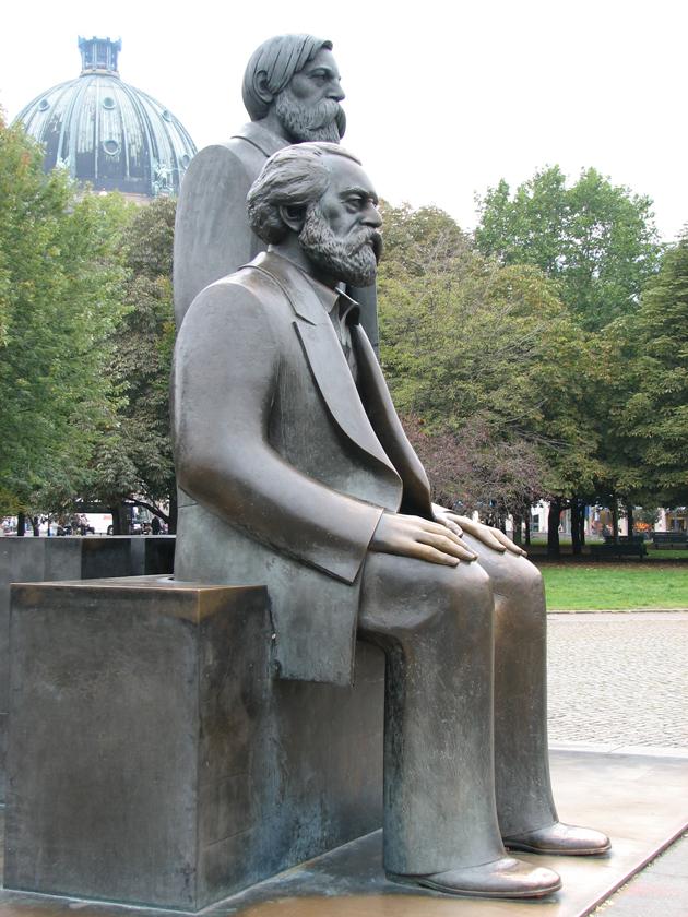Marx-Engels Forum, Berlin (Fotó: Myreille)