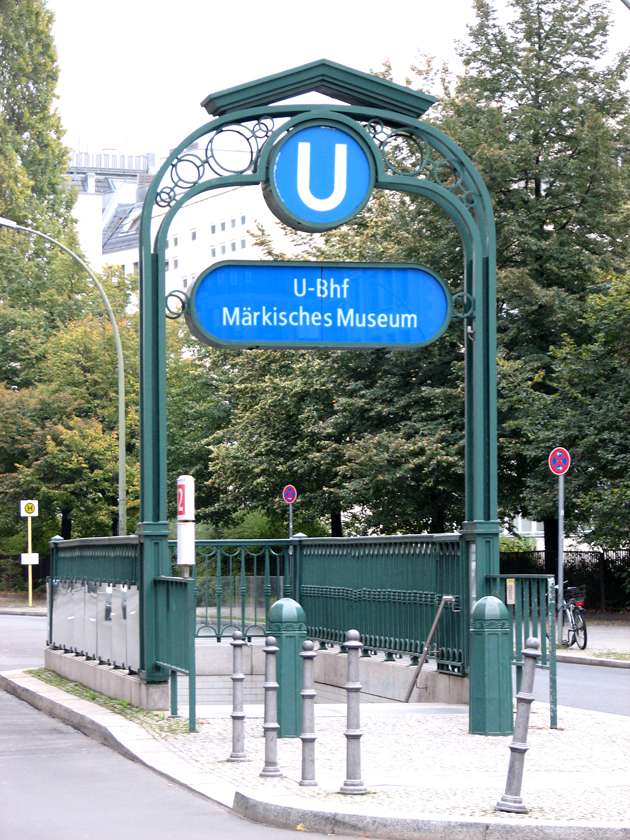 Berlini metró (Fotó: Myreille)